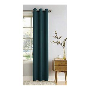 1 PANEL ONLY Blackout Grommet Curtain Teal